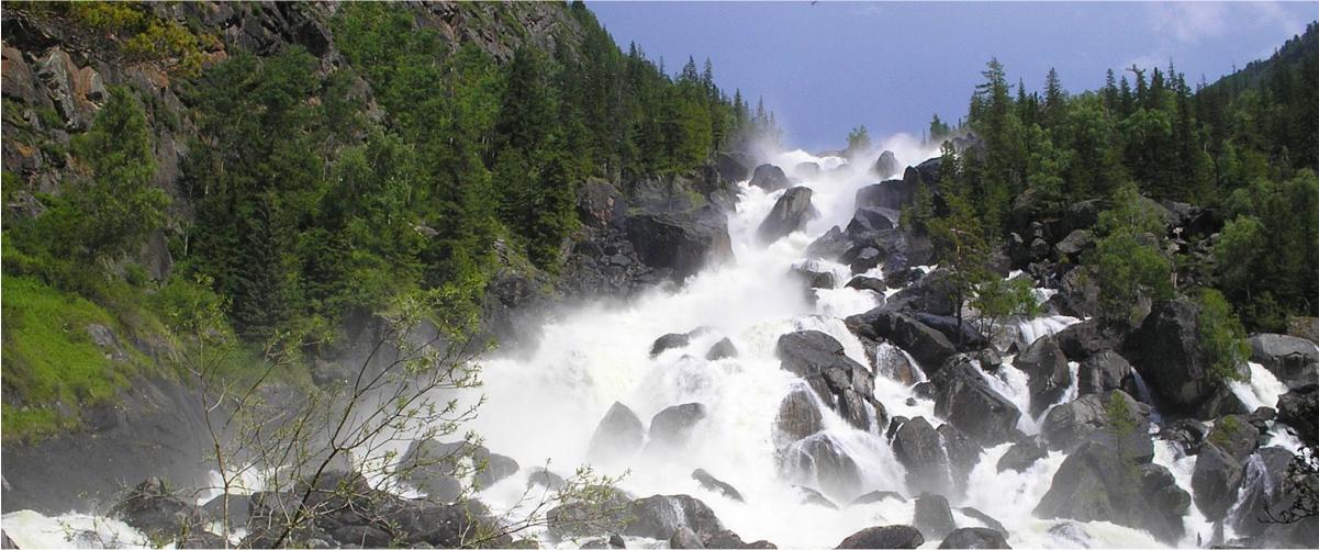 реки и водопады Алтая